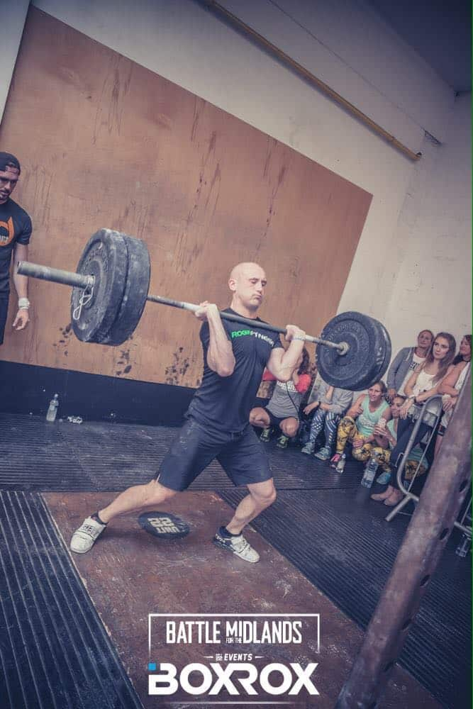 Personal Trainer from PHFitness competes in weight lifting contest